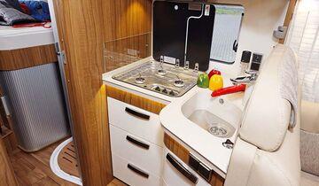 Küche im Hymer B 678 Premium Line