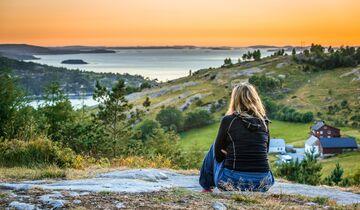 Küstengegend in Norwegen
