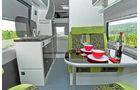 La Strada Avanti XL mit klassischem Heckbett und Doppelboden