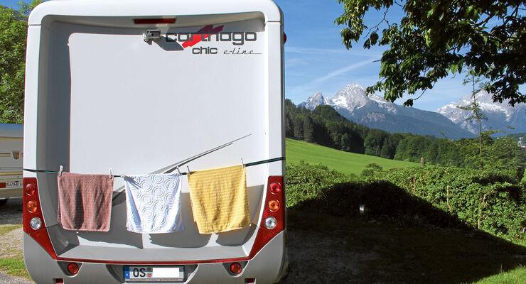 Lesertipp: Wäscheleine an das Wohnmobil