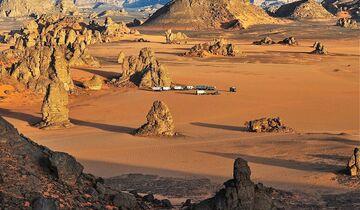Libyen Gebirge