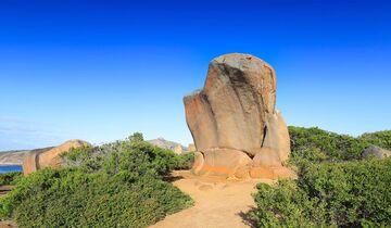 MT Westaustralien Granitfels
