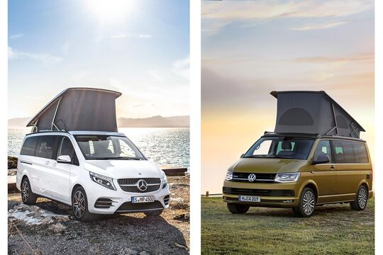 Mercedes Marco Polo vs. VW California