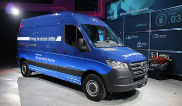 Mercedes Sprinter 2018 Weltpremiere
