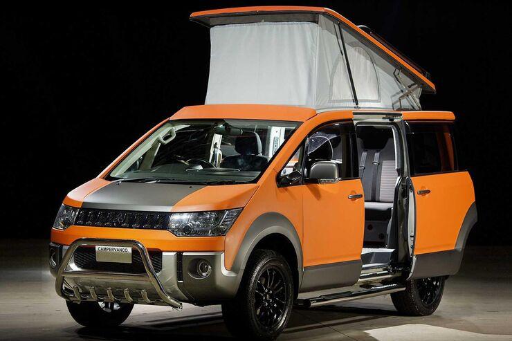 Mitsubishi Delica D5 Terrain Camper