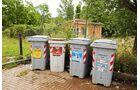 Müllentsorgung auf dem Stellplatz Punto Sosta per Camper