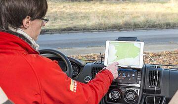 Navigations-Apps Tablet