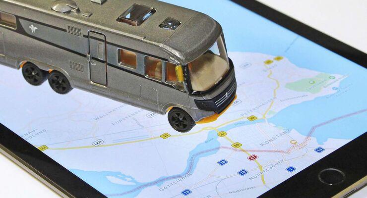 8 navigations apps f rs smartphone f r wohnmobile im test. Black Bedroom Furniture Sets. Home Design Ideas