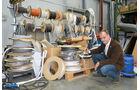 News: Report, Werkstatt und Service, Teilelager