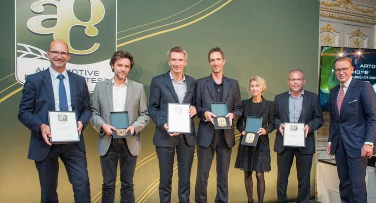 "Niesmann+Bischoff ""Special Mention"" bei Automotive Brand Contest 2014"
