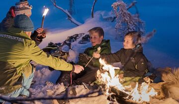 Norwegen Lagerfeuer