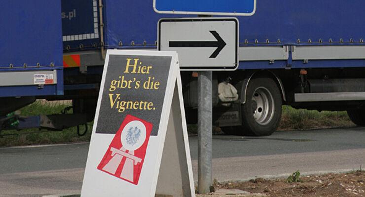 Österreich Pickerl Reisemobil