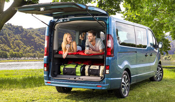opel vivaro life 2018 weltpremiere des opel campervans. Black Bedroom Furniture Sets. Home Design Ideas