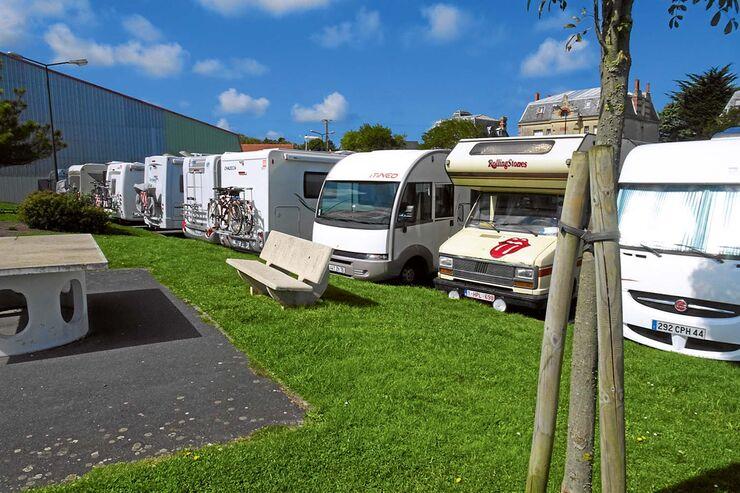 Parking Centre Frankreich