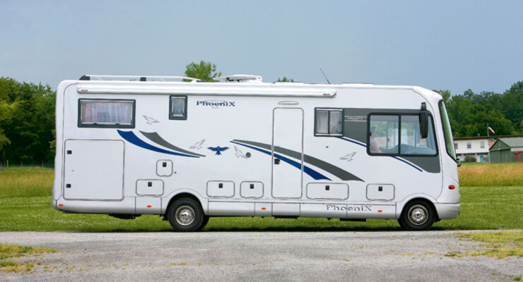 Phoenix Liner 8500 L Test promobil Reisemobile Wohnmobile