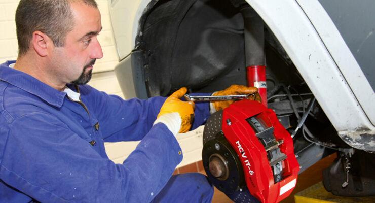 Praxis: Bremsanlagen optimieren