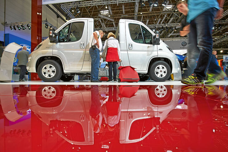Premiere: Caravan-Salon, Reisemobile 2015, Fiat