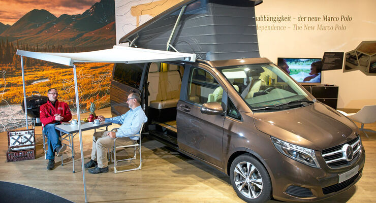 Premiere: Mercedes Marco Polo, Campingstimmung
