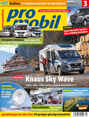 Promobil Cover 03/2018