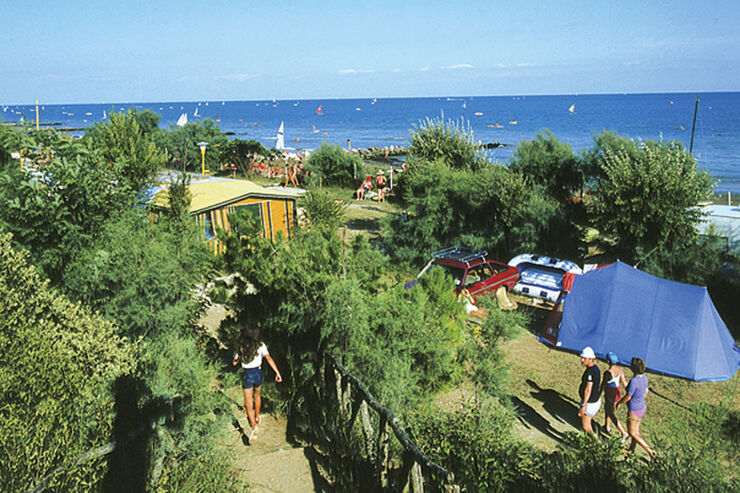 Reise-Service: Camping Cheque