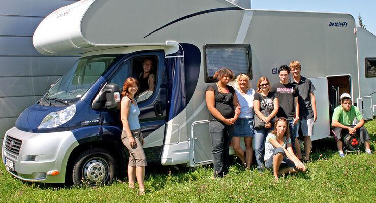 Reisemobil Dethleffs Family Stiftung Jugendwohngemeinschaft Memmingen weg-ev.de