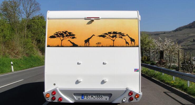 Reisemobil, wohnmobil, caravan, wohnwagen