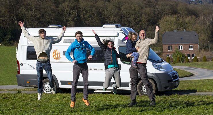 Reportage 5 Personen Campingbus Umbau