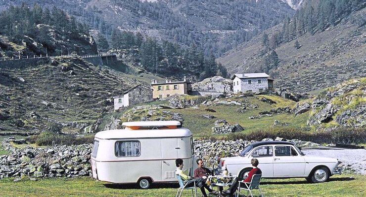 Retro Wohnwagen