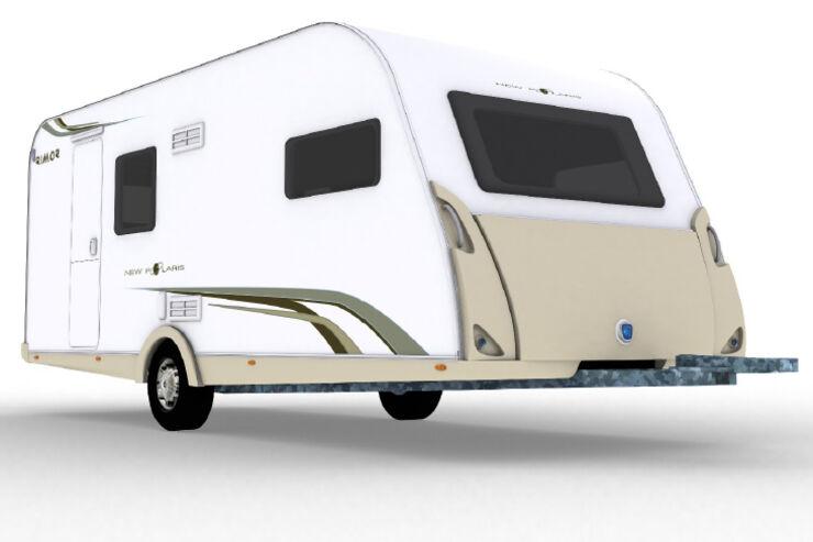 Rimor News Polaris 510 LM 580 CDM 510 LF Caravans Wohnwagen promobil CARAVANING CMT 2009 Neuheiten