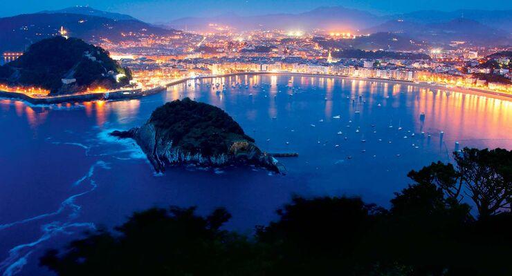 San Sebastián bietet einen der schönsten Stadtstrände weltweit.