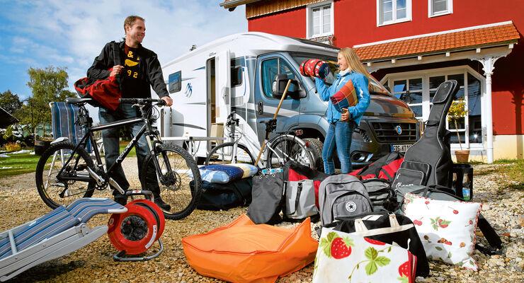 Schritt für Schritt zum Profi-Camper: Richtig beladen und transportieren