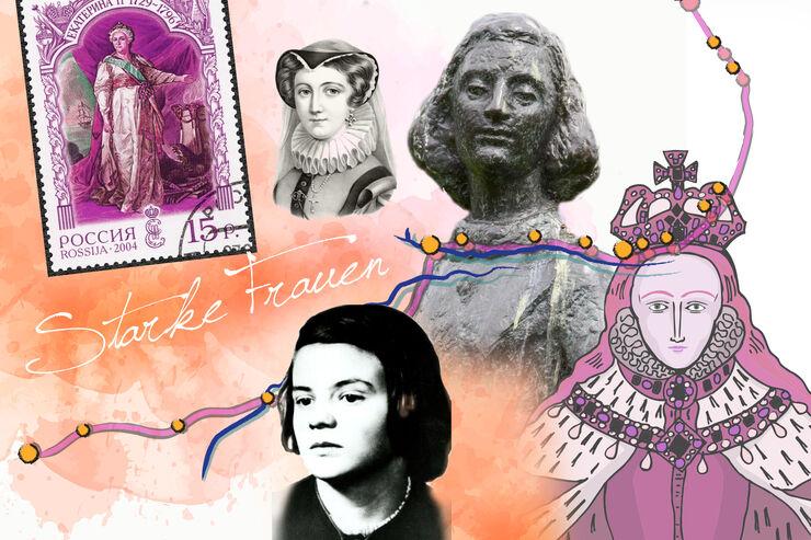 Starke Frauen Historie