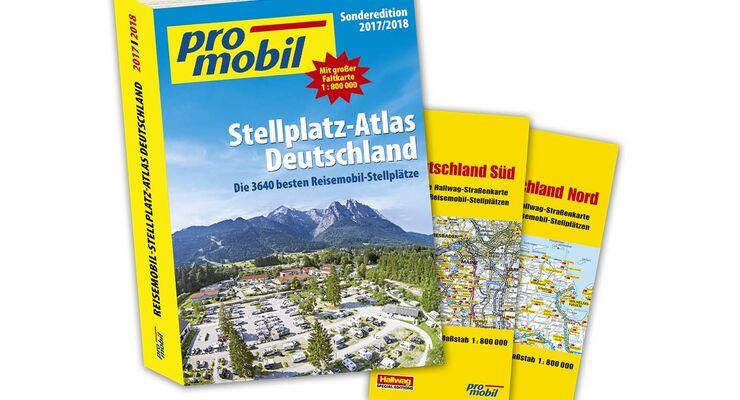 Stellplatz-Atlas Deutschland 2017/19