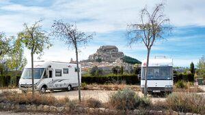 Stellplatz Morella in Spanien