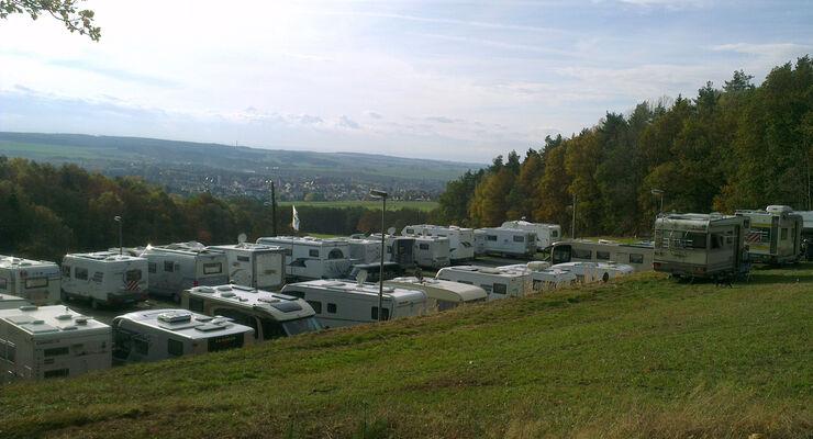 Stellplatz Pension Heinrichs-Ruhe Neustadt an der Orla