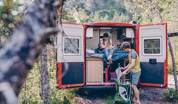 Sunlight Campervan Cliff Sondermodell