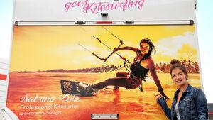 Sunlight wird Sponsor von Deutschlands bester Kitesurferin Sabrina Lutz. Sunlight unterstützt sie mit einem Wohnmobil.