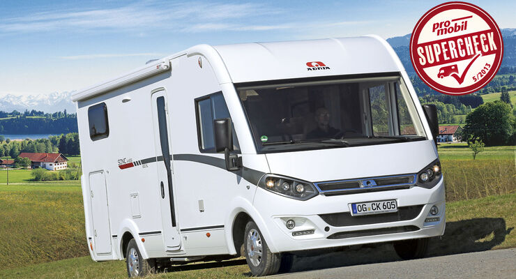 Supercheck: Adria Sonic Axess I 600 SL
