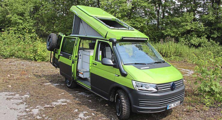 kompakte campervans 2018 campingbusse in bulli gr e. Black Bedroom Furniture Sets. Home Design Ideas