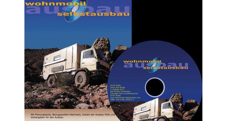 Ulrich Dolde hat sein Wohnmobil-Selbstausbau-Buch auf CD-ROM stark überarbeitet und ergänzt. Umfang: weit über 400 Seiten.