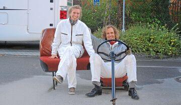 Ursula Horn und Sven Höttges