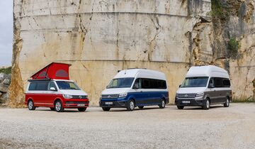 VW California Familie: Grand California, T6, Crafter (2019)