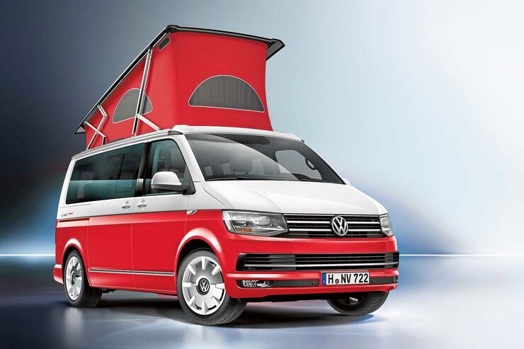 VW California Ocean Red