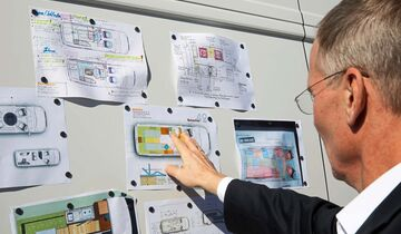 VW Crafter Grundriss Wettbewerb Dr. Eckhard Scholz