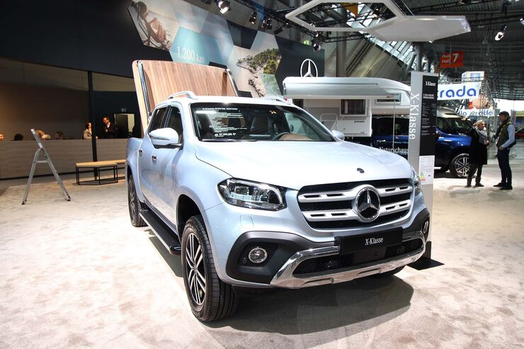 Tischer wanner absetzkabinen f r mercedes x klasse promobil for Mercedes benz rental pittsburgh