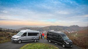 Vergleichstest Hymer-Car Grand Canyon S und Westfalia Sven Hedin