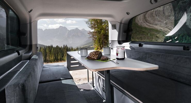 Visu Sitka Campingbus-Möbelmodul (2019)