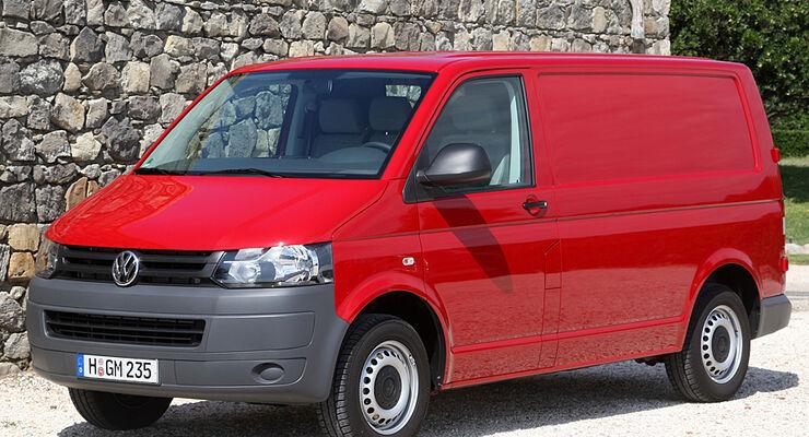 Volkswagen Nutzfahrzeuge hat von Januar bis März 2011 stark steigende Verkaufszahlen verzeichnen können