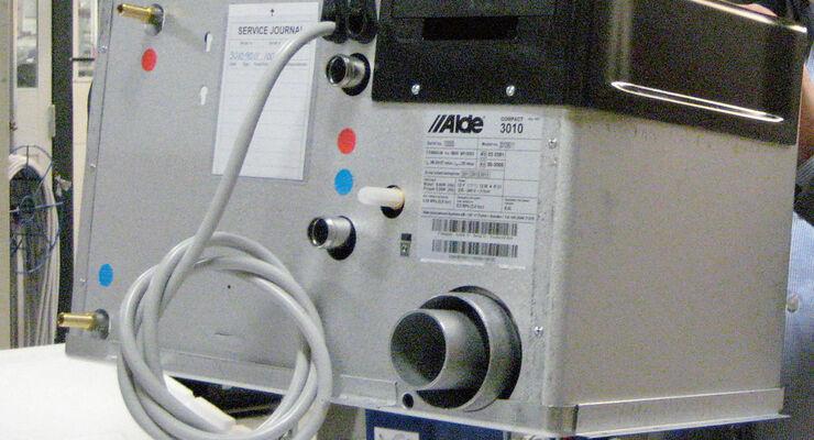 Warmwasserheizung - Promobil