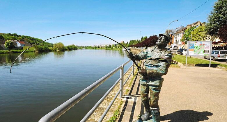Wasserbillig: Der Grenzort lädt am Moselufer zum Bummeln ein. Gegenüber liegt Deutschland.